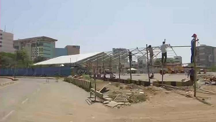 کورونا Updates: ممبئی میں 1000 بستروں پر مشتمل 'کورونا اسپتال' کی تعمیر شروع