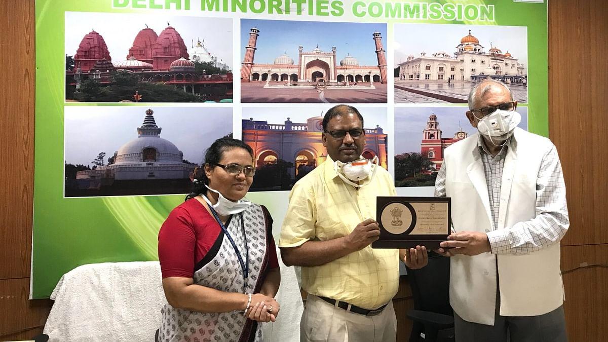 ڈاکٹر ذاکر حسین میموریل سینئر سیکنڈری اسکول جعفرآباد کو ملا 'بہترین اسکول' کا ایوارڈ