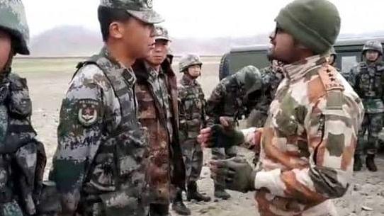 ہند-چین سرحد پر تصادم کے بعد فوجی افسران کی ملاقات شروع