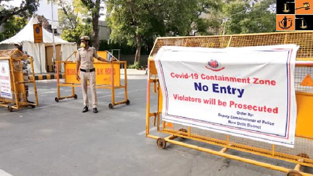 دہلی: کینٹنمنٹ زون میں سوا دو لاکھ لوگوں کا سروے کیا گیا