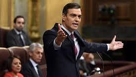 اسپین پارلیمنٹ سے لاک ڈاؤن بڑھانے کی تجویز کو منظوری