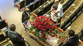 جارج فلائیڈ کی آخری رسومات ادا، 6 ہزار سے زائد لوگوں نے کی شرکت