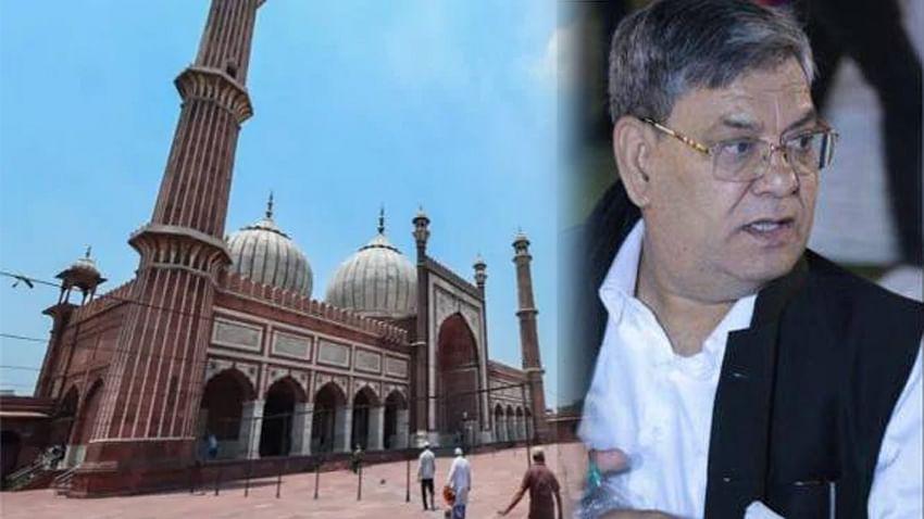 سید احمد بخاری کے پی آر او کا کورونا سے انتقال، پھر بند ہو سکتی ہے جامع مسجد!