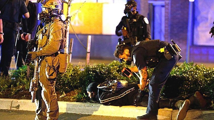 جارج فلائیڈ  معاملہ: ورجینیا میں کرفیو کی خلاف ورزی کی پاداش میں 200 مظاہرین گرفتار