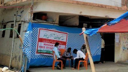 مہاراشٹر: بھیونڈی کی مکہ مسجد 'کورونا مرکز' میں تبدیل، مریضوں کے لئے مفت آکسیجن کی سہولت
