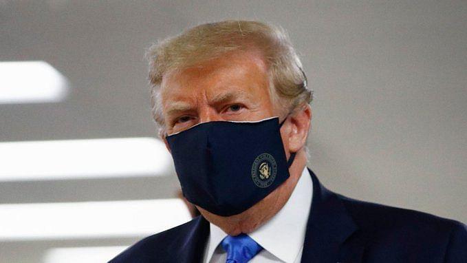 امریکی صدر ٹرمپ نے کورونا بحران میں پہلی بار پہنا 'ماسک'، ناقدین نے خوب لیے مزے