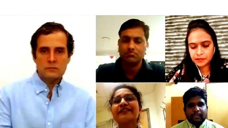 بیرون ممالک میں موجود ہندوستانی نرسوں سے 'کورونا وبا' پر راہل گاندھی کی گفتگو، یہاں پڑھیں تفصیل
