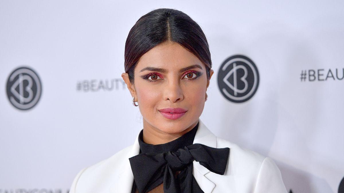 مشہور بالی وڈ اداکارہ پرینکا چوپڑا کی فائل تصویر
