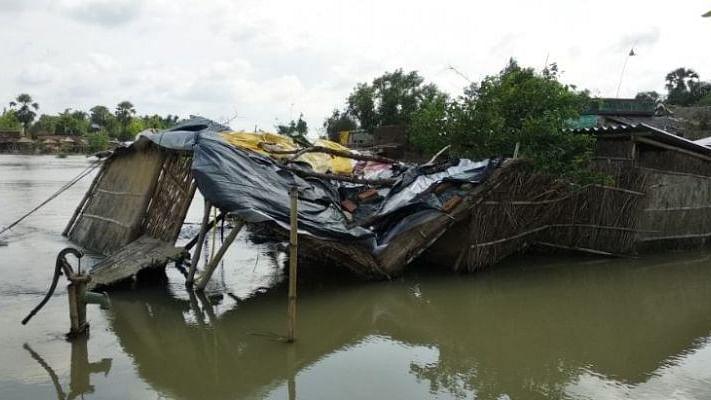بہار: مغربی چمپارن کے 70 گاؤں میں سیلاب کا پانی داخل