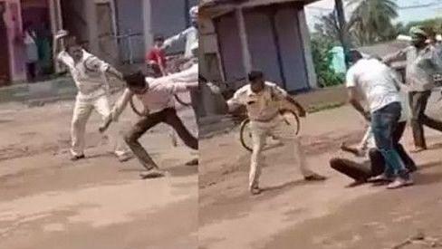 ایم پی: گنا کے بعد علی راج پور میں پولس کی بے رحمی، مریض کی پٹائی کا ویڈیو وائرل