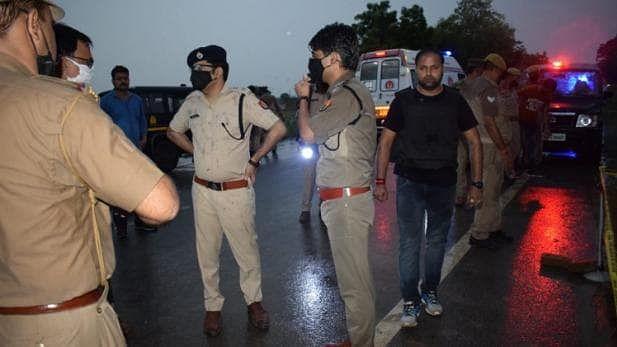 کانپور: ہسٹری شیٹر وکاس دوبے کے دو ساتھی رنبیر اور پربھات پولیس تصادم میں ہلاک