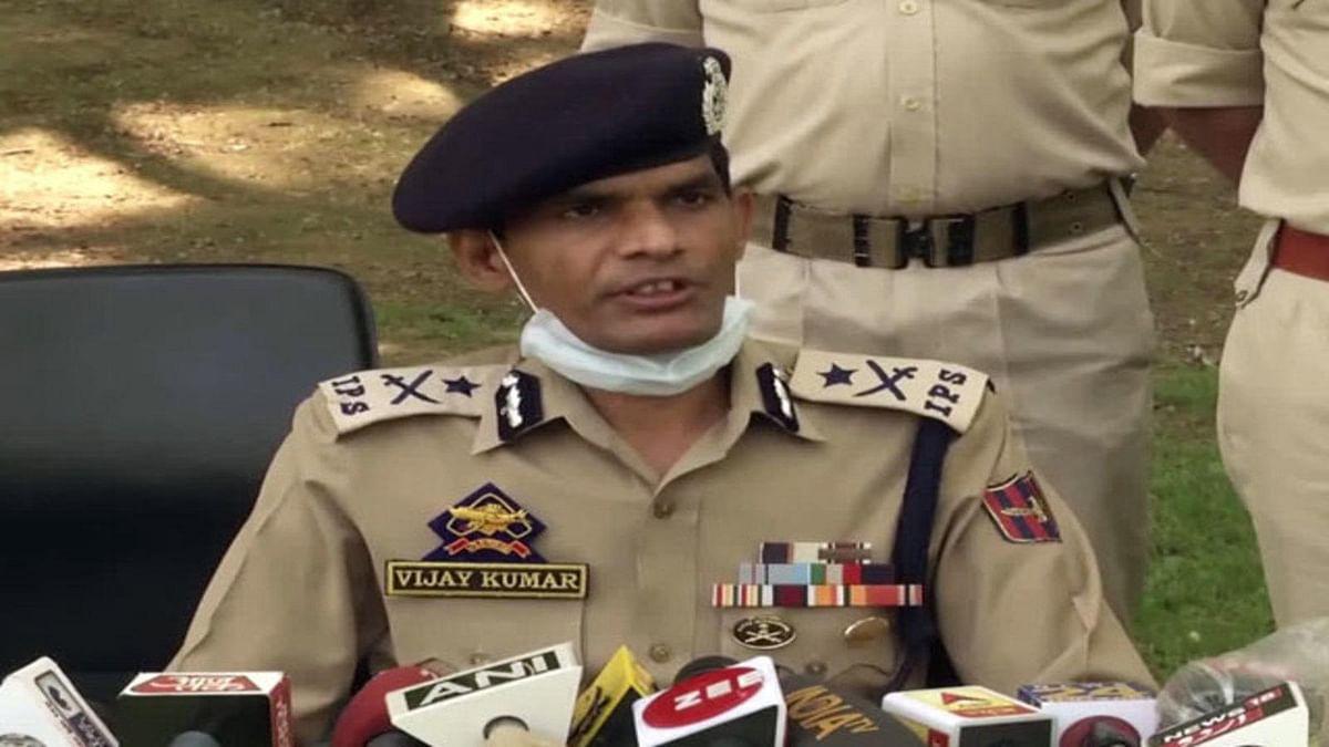 بانڈی پورہ میں بی جے پی لیڈر کی ہلاکت میں لشکر طیبہ کا ہاتھ: وجے کمار