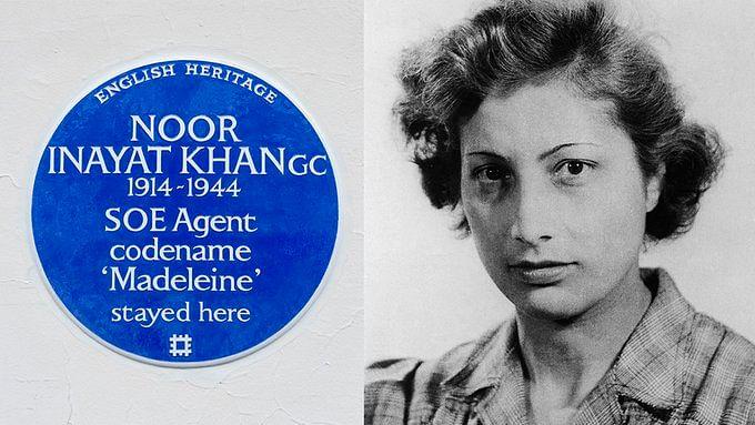 نور عنایت خان: ہند نژاد برطانوی جاسوس کو ملا اعزاز، گھر میں لگائی گئی 'نیلی تختی'