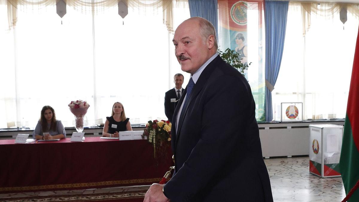 الیگزینڈر لوکاشینکو، تصویر یو این آئی