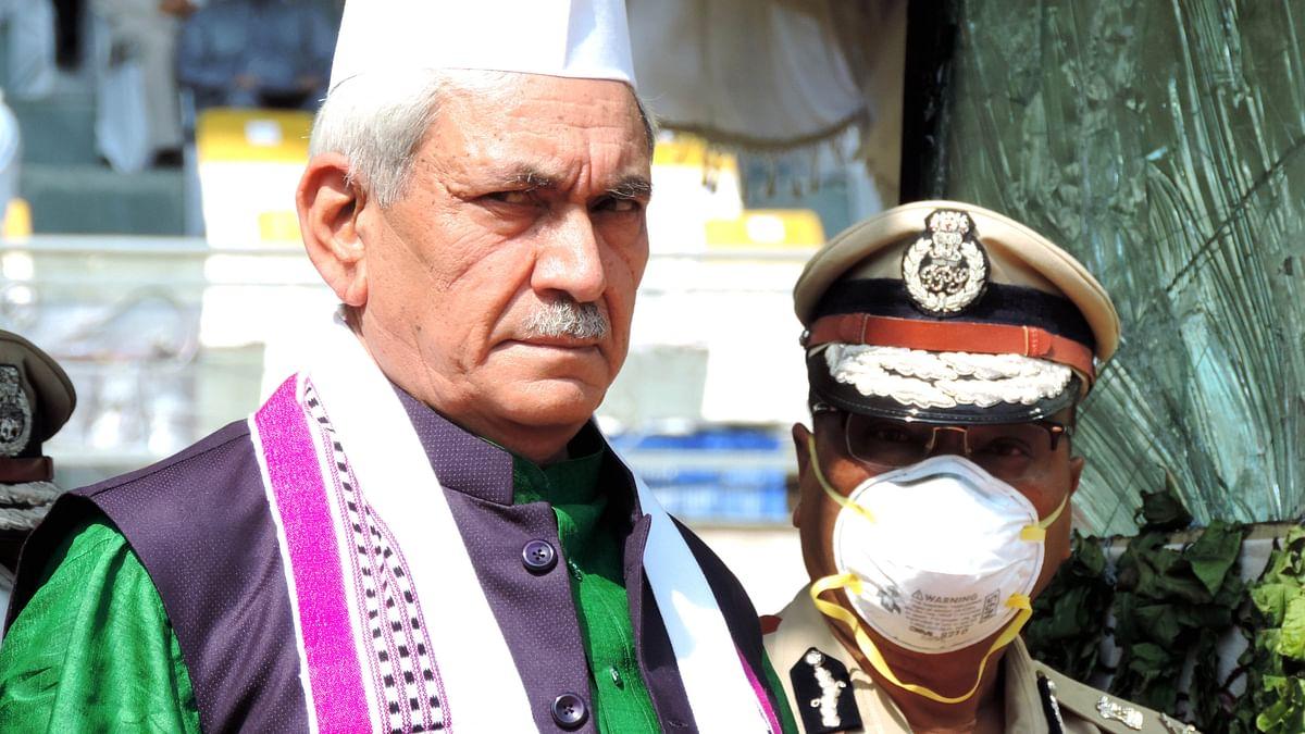 جموں و کشمیر: ترقی کے لئے امن ضروری، لیفٹیننٹ گورنر منوج سنہا