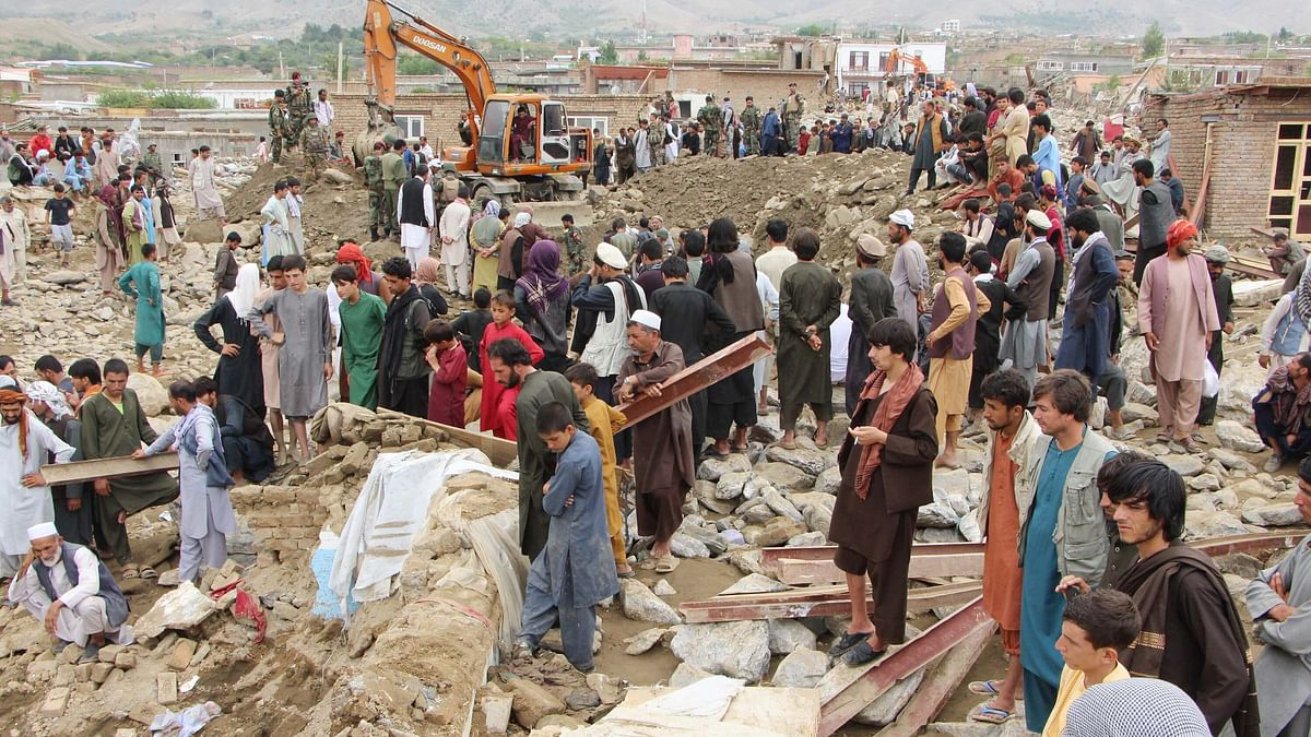 افغانستان میں سیلاب سے زبردست تباہی، 122 افراد جان بحق، سینکڑوں زخمی