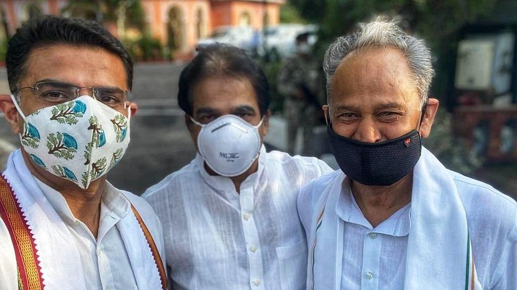 راجستھان: گہلوت حکومت نے حاصل کیا اعتماد کا ووٹ، 75 کے مقابلہ 122 ارکان نے دی حمایت