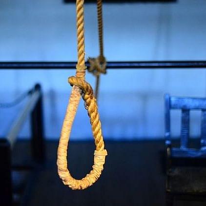 خاتون کی خودکشی، تصویر آئی اے این ایس