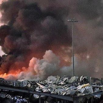 بیروت دھماکوں میں 135 ہلاکتیں