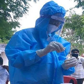 کورونا وائرس، تصویر یو این آئی