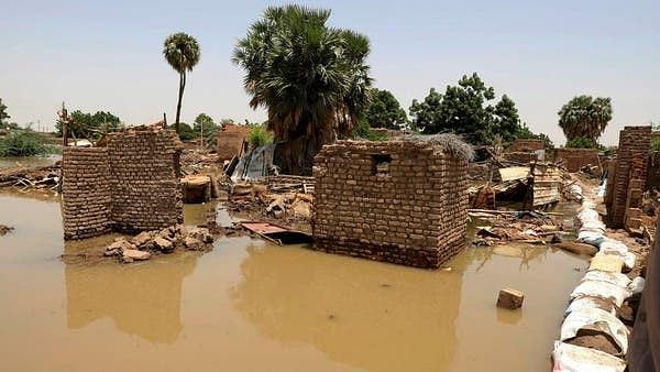 سوڈان میں حالیہ بارشوں اور سیلاب سے 557130 افراد متاثر