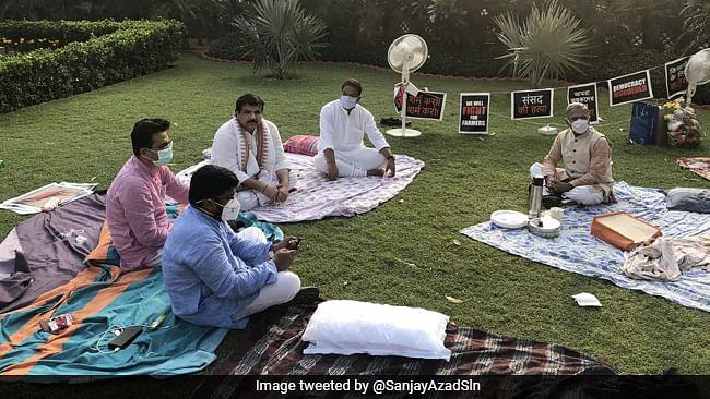 احتجاجی ارکان پارلیمنٹ کو چائے پیش کرنے پر پی ایم مودی نے کی ہری ونش اور بہار کی ستائش
