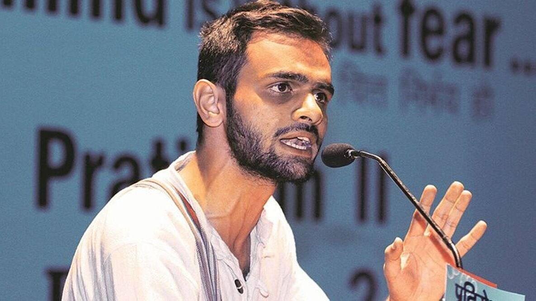دہلی فساد: عمر خالد کی اپنے اہل خانہ سے ملنے کی درخواست مسترد