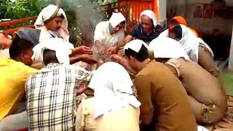 کانپور انکاؤنٹر: پولس اسٹیشن میں بری روحوں کا بسیرا، چھٹکارا کے لیے ہوئی پوجا!