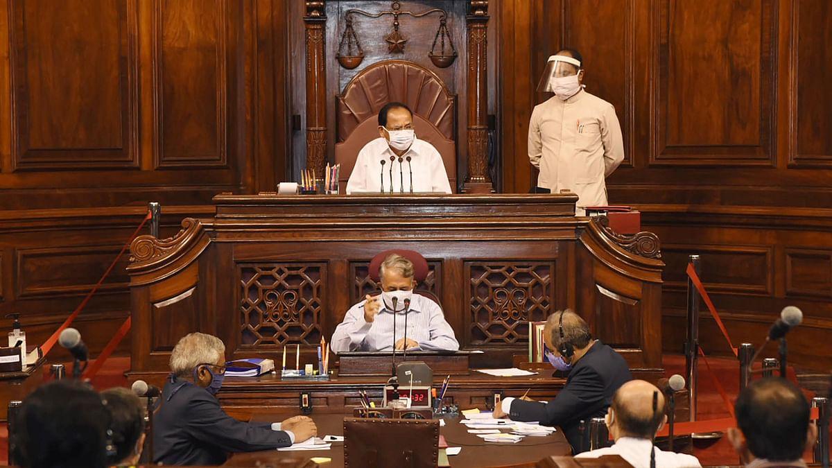 راجیہ سبھا کا مانسون اجلاس / یو این آئی