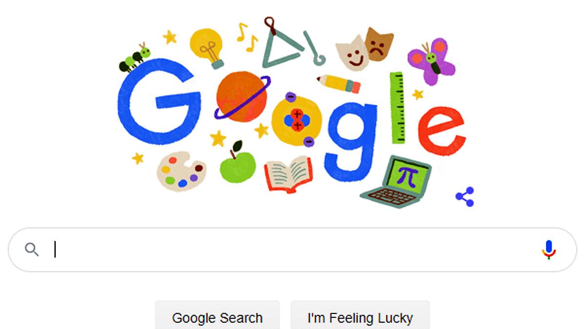 ٹیچرس ڈے پر گوگل کا ڈوڈل