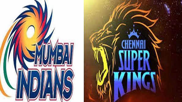ممبئی انڈینز اور چنئی سپر کنگز، تصویر یو این آئی