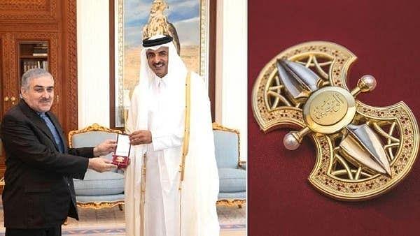 امیرِ قطر کی طرف سے ایرانی سفیر کو شاندار کارکردگی پر بیش قیمت تحائف
