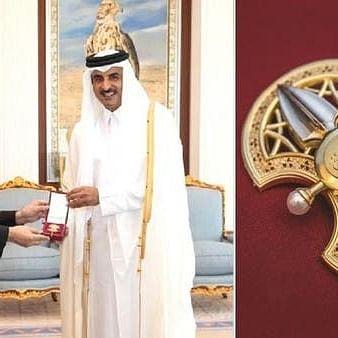 امیرِ قطر کی طرف سے ایرانی سفیر کو شاندار کارکردگی پر بیش قیمت تحفہ