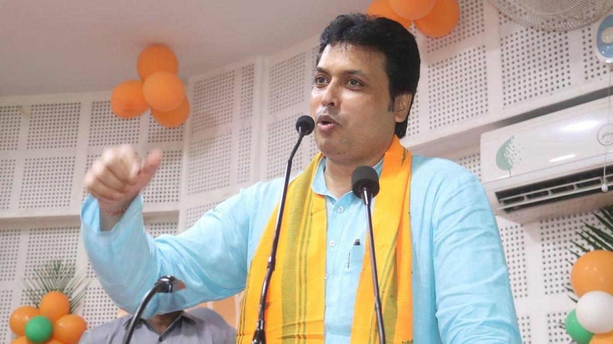 تریپورہ کی بی جے پی حکومت پر خطرہ، مسئلہ کا حل نکالنے بپلب دیب دہلی روانہ