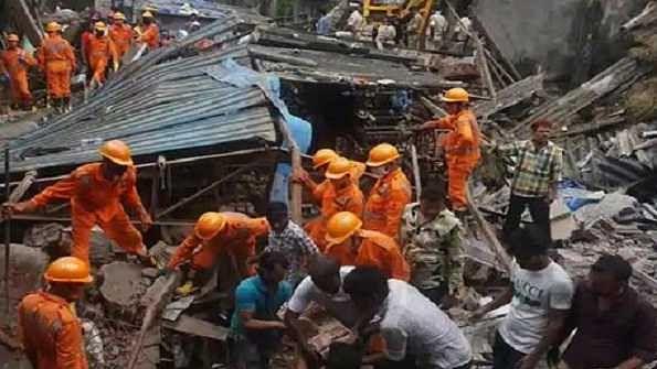 بھیونڈی حادثہ: مہلوکین کی تعداد بڑھ کر 35 ہوئی، 25 لوگ بحفاظت نکالے گئے