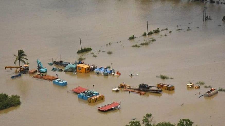 مدھیہ پردیش میں سیلاب کی تباہ کاری، لاکھوں ہیکٹیئر فصل برباد