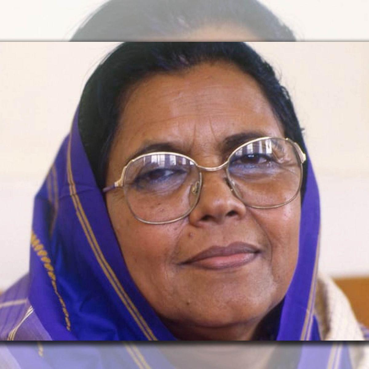 آسام کی واحد خاتون اور مسلم وزیر اعلیٰ سیدہ انورہ تیمور کا انتقال