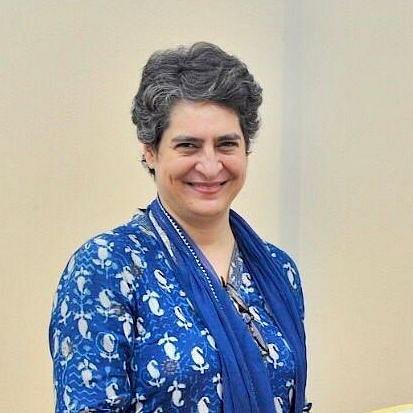 پرینکا گاندھی، تصویر یو این آئی