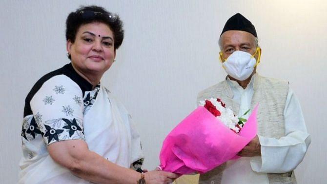 رکھا شرما اور بھگت سنگھ کوشیاری / تصویر سوشل میڈیا