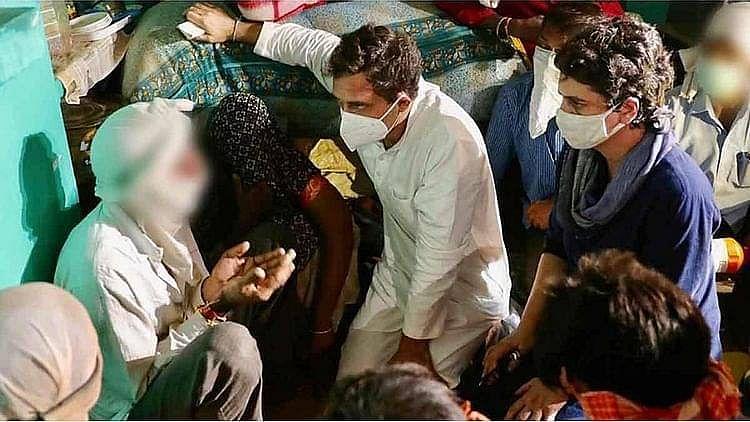 ہاتھرس متاثرہ کنبہ کا درد آیا سامنے، راہل گاندھی نے جاری کیا ویڈیو