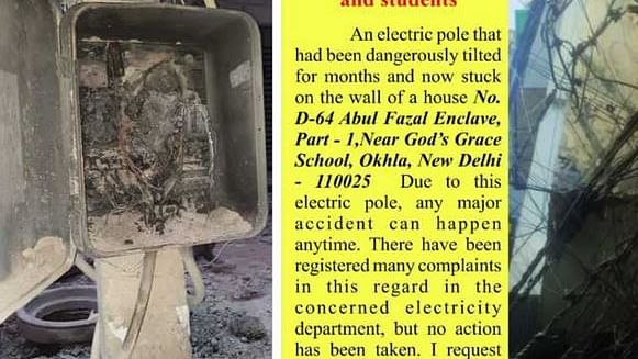 ابوالفضل میں بجلی کے کھمبے میں آگ لگنے سے ایک مزدور جھلس گیا