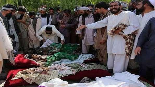 افغانستان: فوج کے ہوائی حملے میں بارہ بچوں کی موت