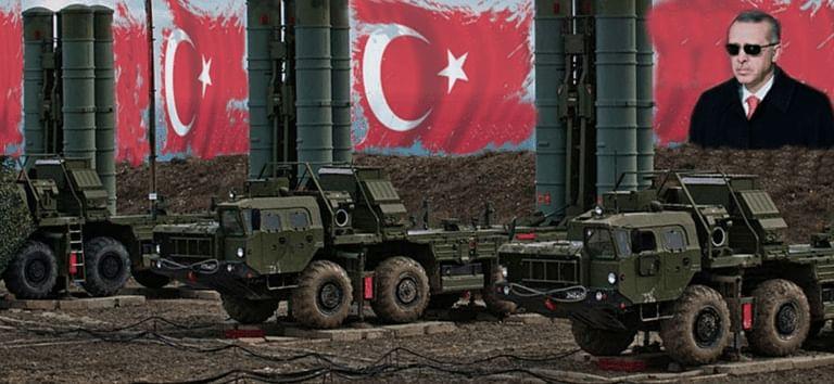 ترکی کا روسی 'ایس 400' فضائی دفاعی نظام کے میزائل کا تجربہ، امریکہ کو تشویش