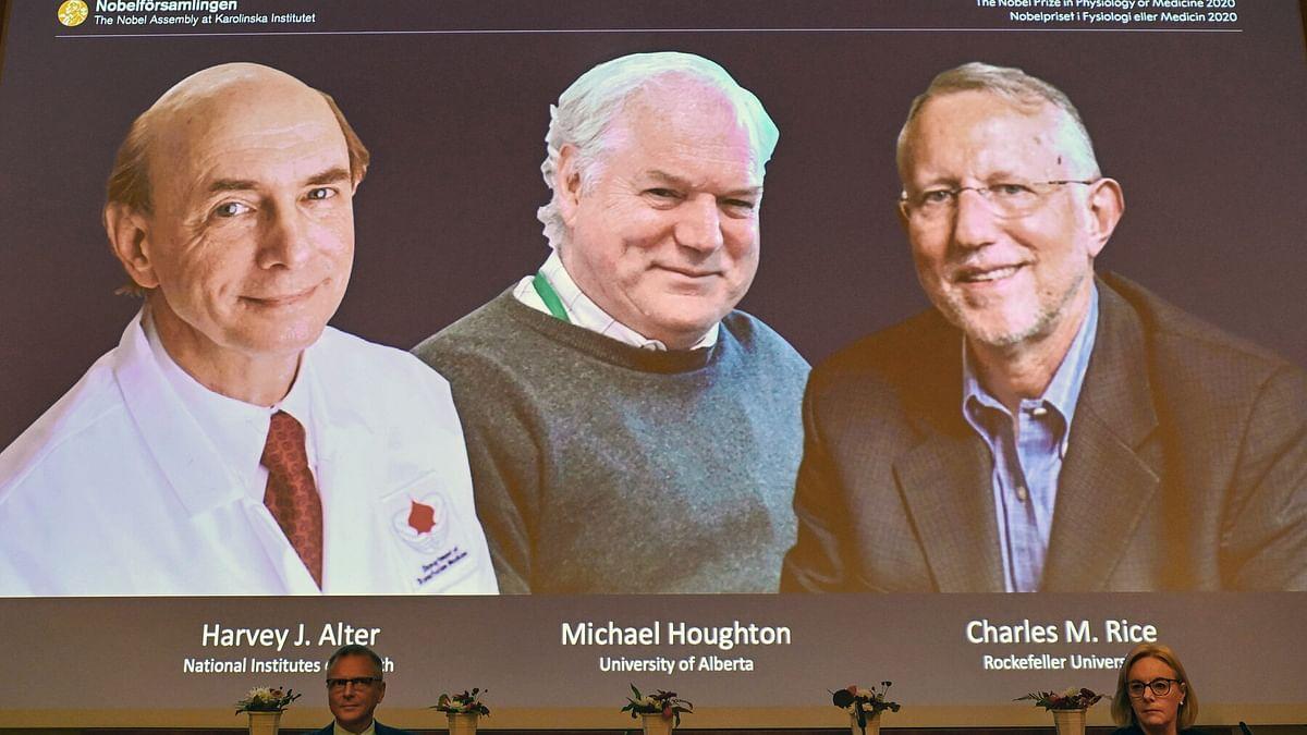 ہیپاٹائٹس سی وائرس دریافت کرنے والے تین سائنسدانوں کو طب کا نوبل انعام