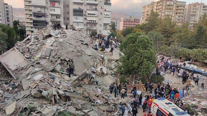 ترکی اور یونان میں شدید زلزلہ: ہلاک شدگان کی تعداد 26 ہوئی، 800 سے زیادہ زخمی