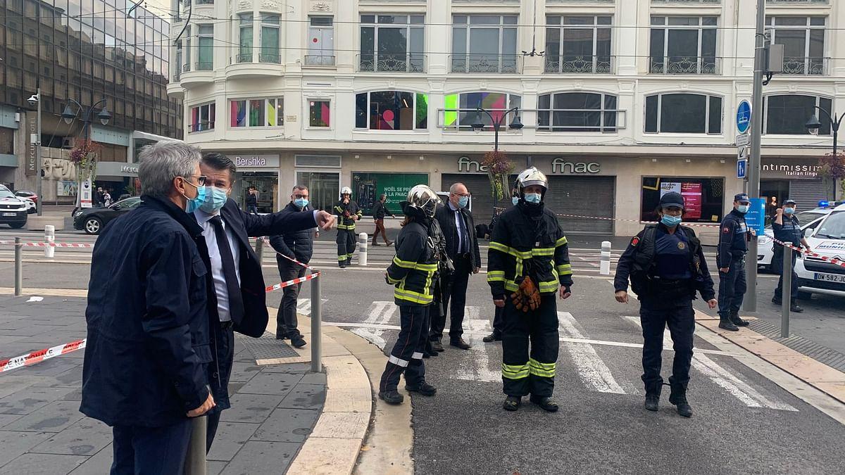 فرانس: چرچ کے نزدیک چاقو سے حملہ، دو افراد ہلاک
