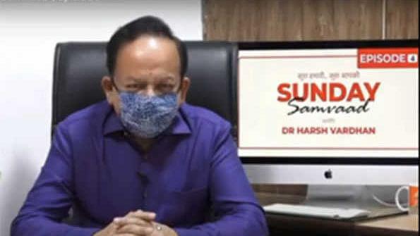 صحافیوں کو بھی عام لوگوں کی طرح کورونا وائرس سے خطرہ: ڈاکٹر ہرش وردھن