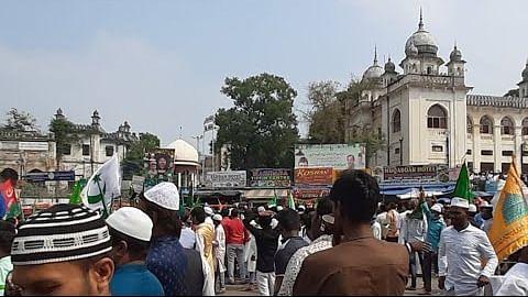 حیدرآباد: جشن میلاد النبیؐ نہایت ہی جوش و خروش اور مذہبی جذبہ کے ساتھ منایا گیا