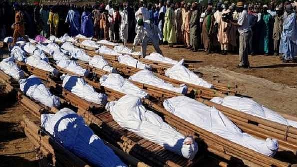 نائیجیریا میں کسانوں کا قتل عام، خواتین کو کیا گیا اغوا، 110 افراد ہلاک