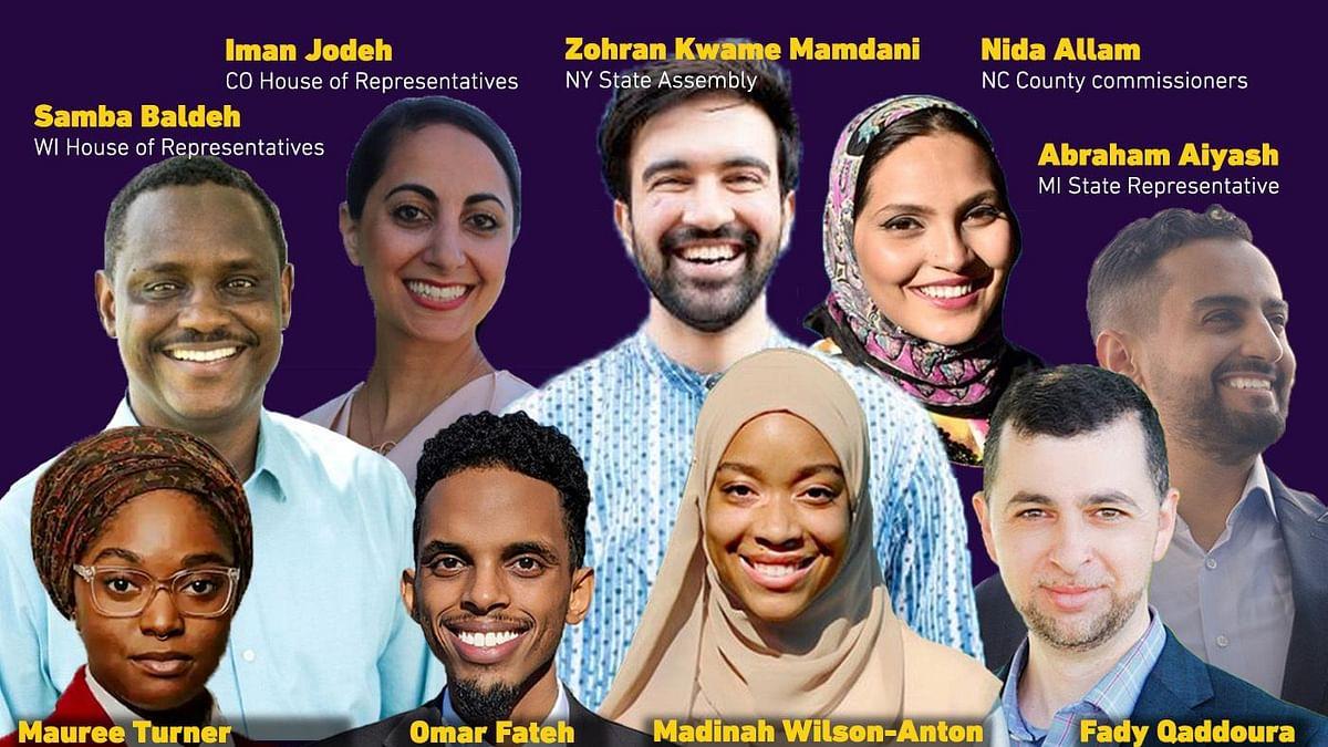 امریکی انتخابات میں 57 مسلم امیدواروں نے لہرایا فتح کا پرچم